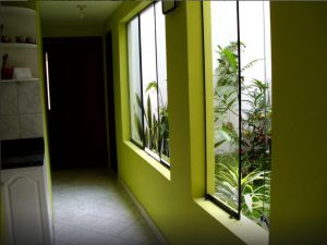 Corridor kitchen-room